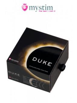 Cockring The Duke (brossé) - Mystim - les meilleurs sextoys - La boutique du plaisir votre Sex-shop