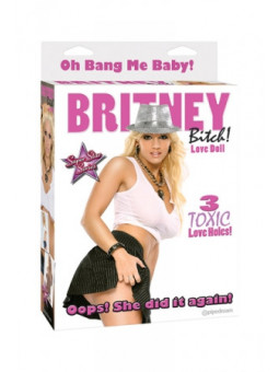 Poupée gonflable Britney  - La boutique du plaisir votre Love shop