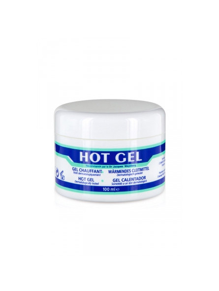 Lubrifiant chauffant Hot gel - sex shop la boutique du plaisir