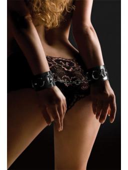 Menottes en cuir - Ouch - La boutique du plaisir votre Sex-shop