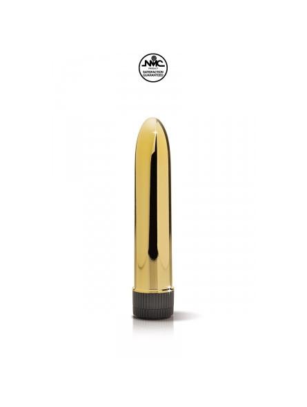 Mini gode vibrant doré - La boutique du plaisir votre Sex-shop