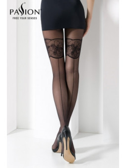Collant TI026 Noir - La boutique du plaisir votre Sex-shop
