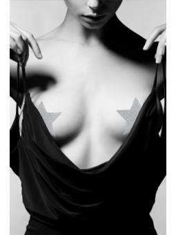 Bijoux de seins Flash Etoile Argent - La boutique du plaisir votre Love shop - sexshop