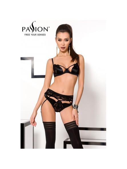 Ensemble Tonya - lingerie à jarretelles - Sex shop la boutique du plaisir