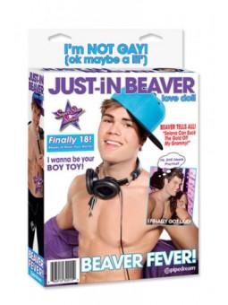 Poupée Just-In Beaver - poupée gonflable homme - La boutique du plaisir votre Sex-shop