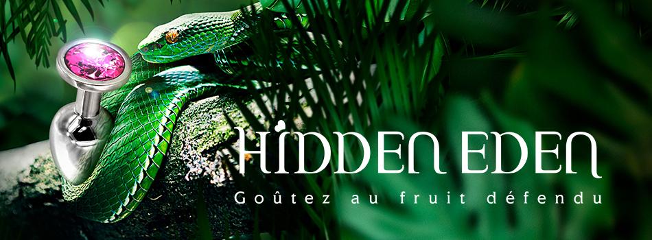 Goûtez au fruit défendu... Découvrez la gamme Hidden Eden.