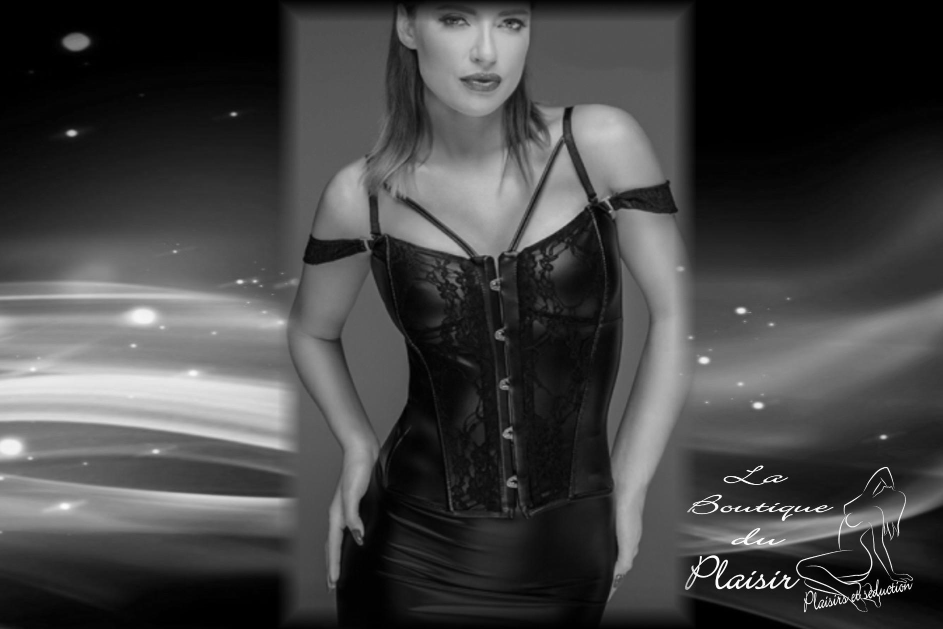 CORSETS. Découvrez la collection de corsets. La boutique du plaisir vous propose une très belle gamme de corsets pour des soirées coquines...
